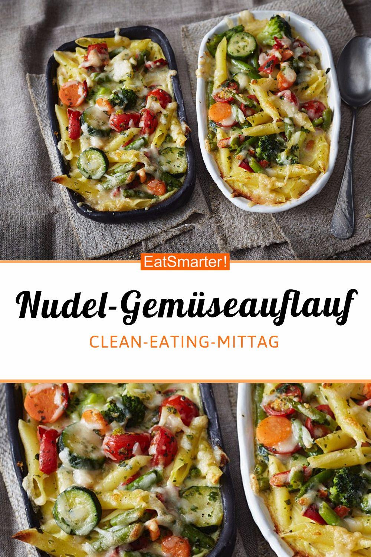 Nudel-Gemüseauflauf - smarter - Kalorien: 569 kcal - Zeit: 20 Min. | eatsmarter.de    #nudelauflaufrezepte #nudelrezepte