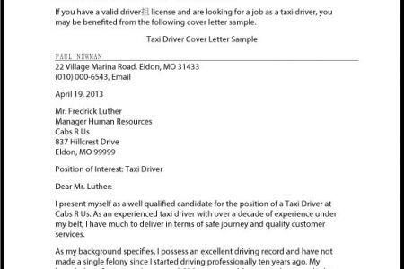 ... Driver Cover Letter 100+ Cover Letter For Driving Job Essay On Relation  And Use Of   Class A ...