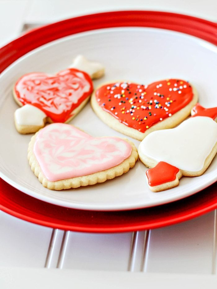 Valentine Cookies Recipe (Cut-Out Cookies!)   Good Life Eats