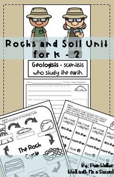 Great resource for investigations on properties of rocks and soil. Uses for rocks, soil, and water included. #rocksandsoil #geologyrocks #geologyearthsciences #earthsciencerocks #earthsciencesoil #rockandsoilscienceproperties #primaryscience