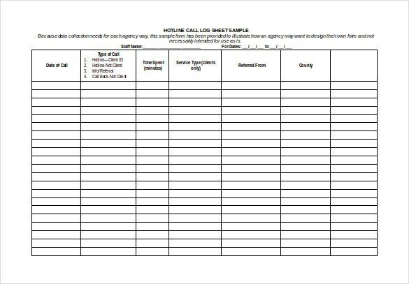 Sample Call Sheet Download A Free Call Sheet Template To Get Your - time log sample
