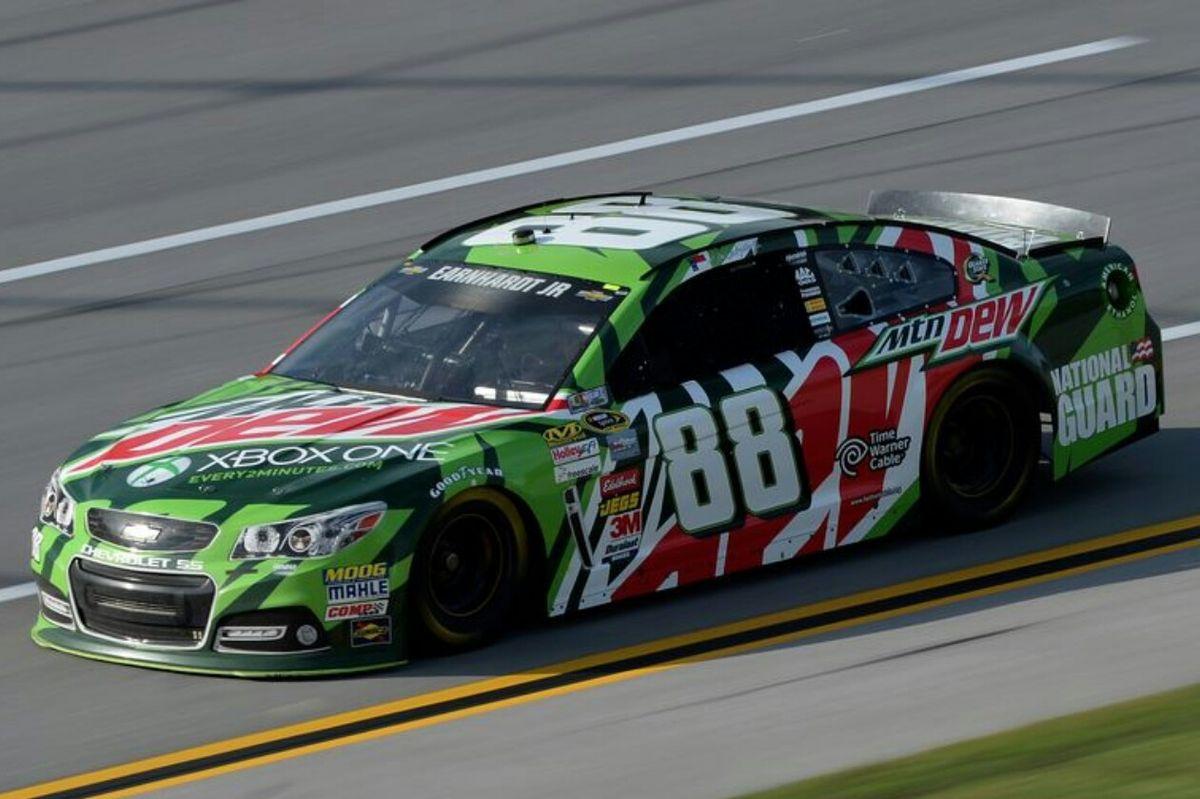 Talladega 2013, Dale Earnhardt Jr. Nascar race cars, Jr