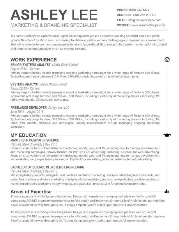 resume paper color resume template in white color with light - Should I Use A Resume Template