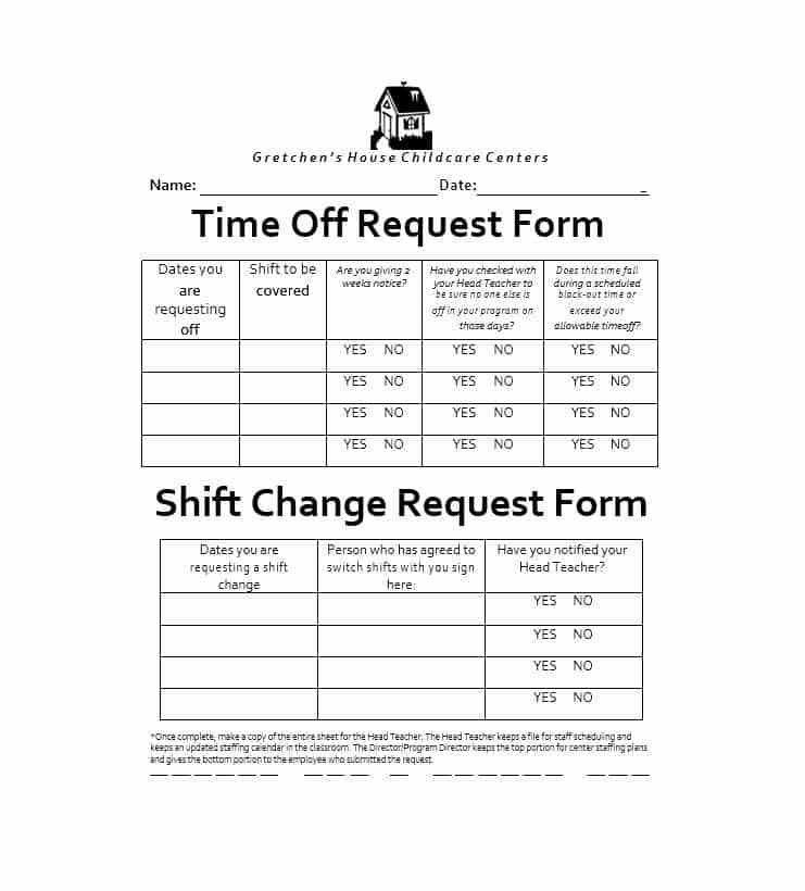 Sample Leave Request Form Sample Leave Request Form 8 Examples In - request for time off form