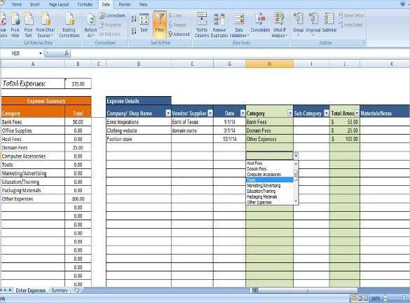 Expense Sheet Format Free Expense Report Templates Smartsheet - sample expense sheet