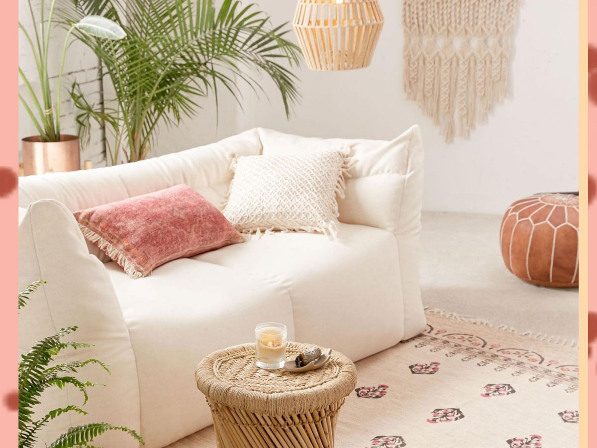 That dreamy boho home is possible! @Refinery29 breaks down their favorite finds for your dream home decor. #homedecor #homedecorideas #bohochic