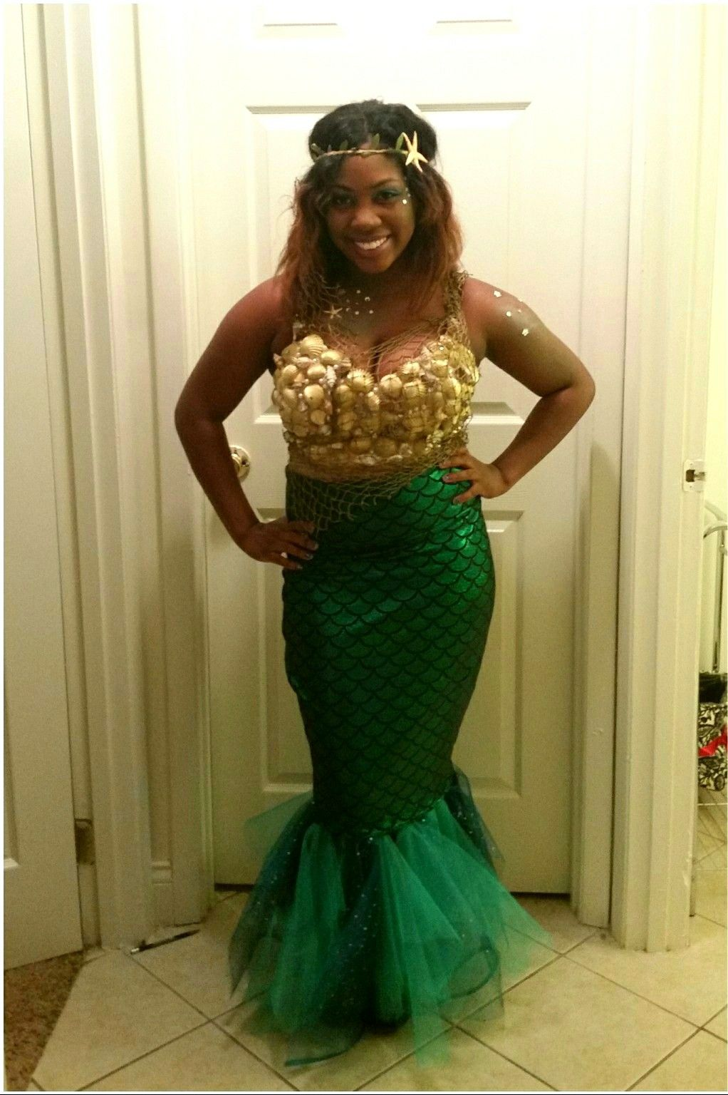 DIY Mermaid Costume Halloween Costume Mermaid costume