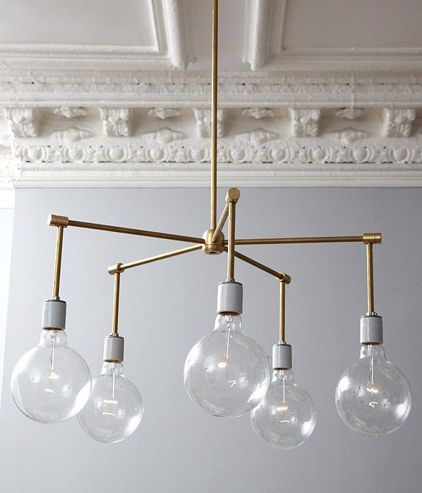 DIY brass chandelier. ambitious but doable?