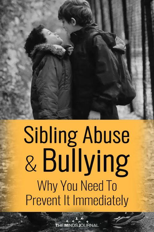 Sibling Abuse And Bullying: Why You Need To Prevent It Immediately