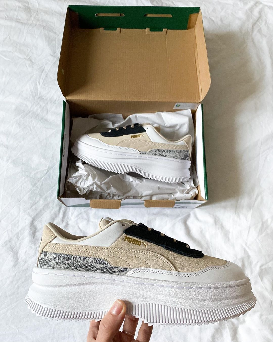 Chunky trainers for spring