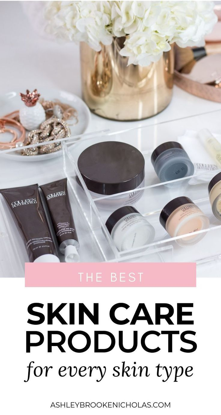 The best skin care products for every skin type | Click through this pin to see the 7 skincare products every woman should own + an honest brand review of Colleen Rothschild products from Orlando, Florida beauty blogger Ashley Brooke Nicholas | best of beauty, ride or die beauty, ride or die skin care, best cleansing balm, best moisturizer, skin care products for normal to dry skin, best exfoliating scrub, best charcoal mask, luxury skin care, skin care that actually works