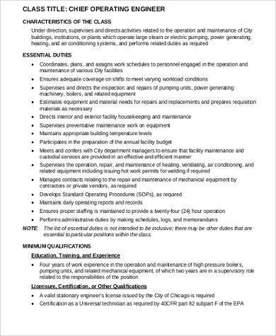 electrical engineer duties and responsibilities cv electrical qa chief engineer job description - Electrical Engineer Responsibilities