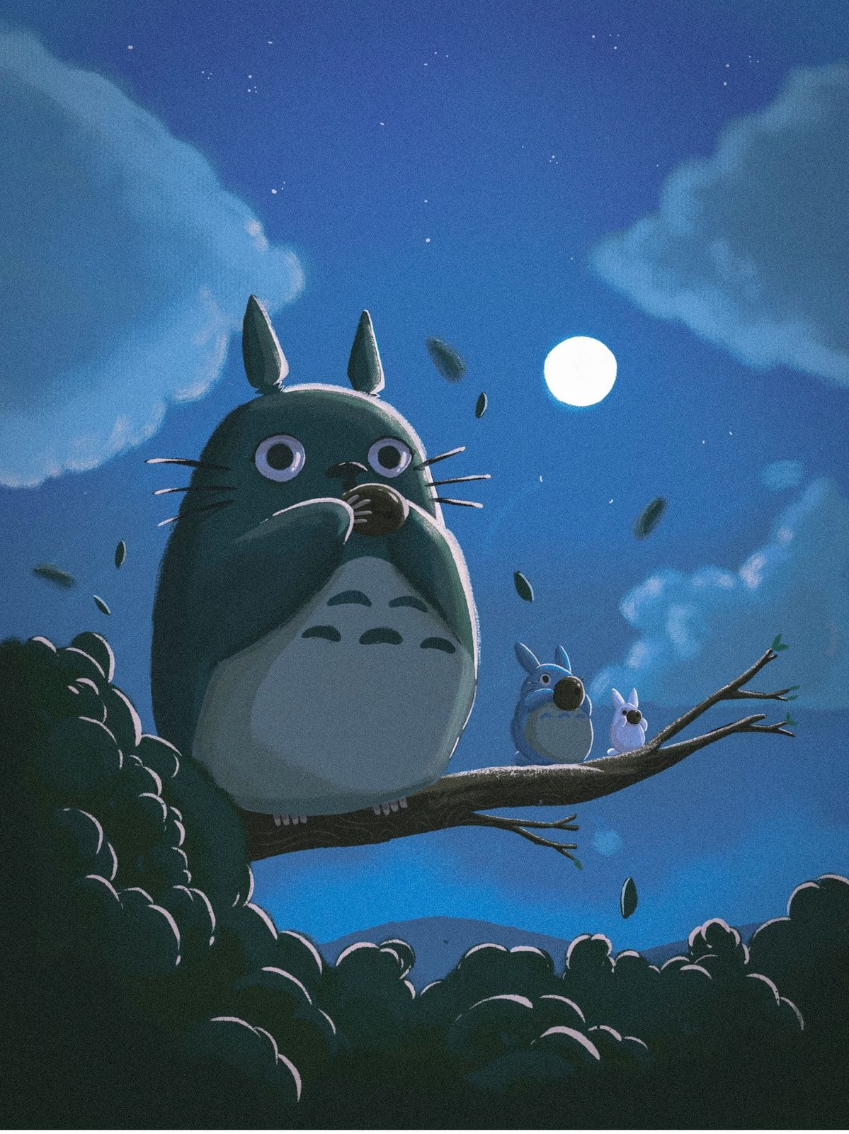 A tribute to the beloved animation studio Studio Ghibli by Erika Montalvo and Pequeño Capitan.