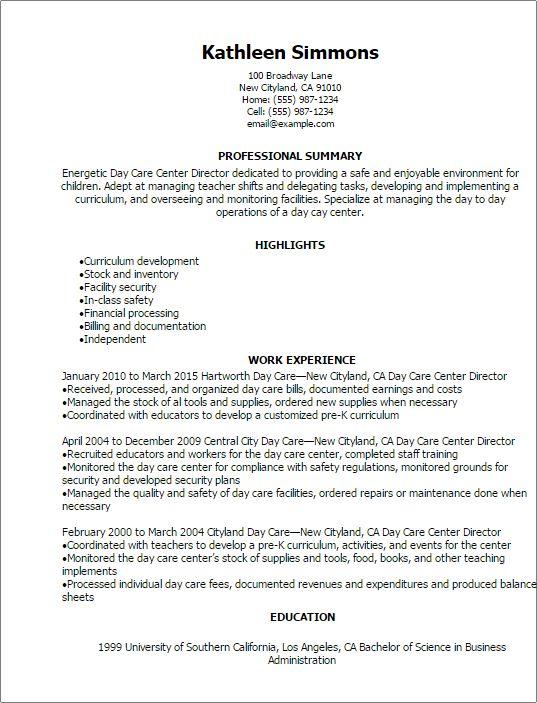 day care director cover letter | node2003-cvresume.paasprovider.com