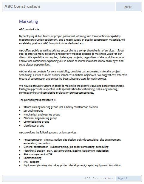 Construction Materials List Template Jpa Designer Materials - construction business plan template