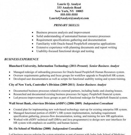 consultant analyst resume business development consultant resume