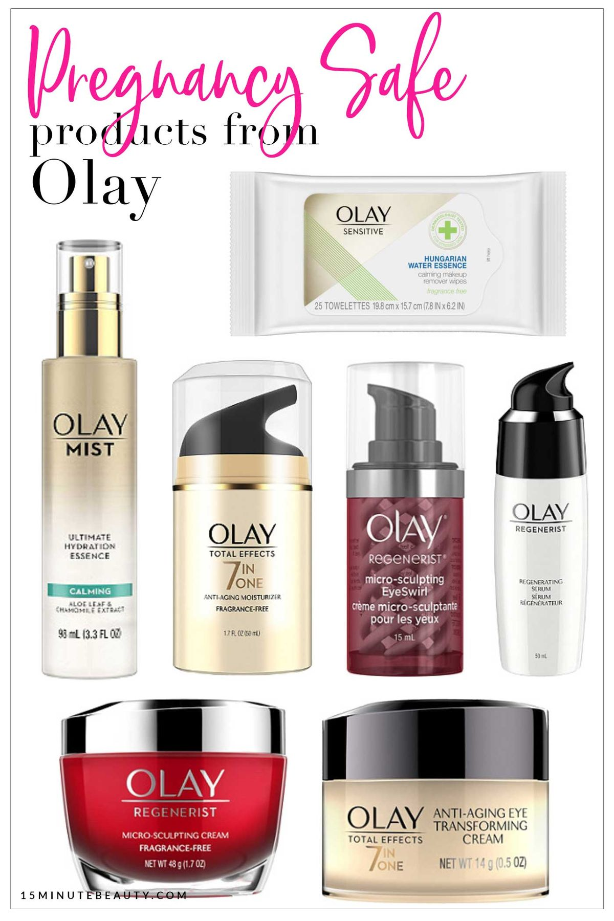 Pregnancy Safe Skincare from Olay