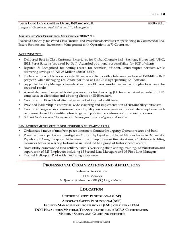 health and safety engineer sample resume