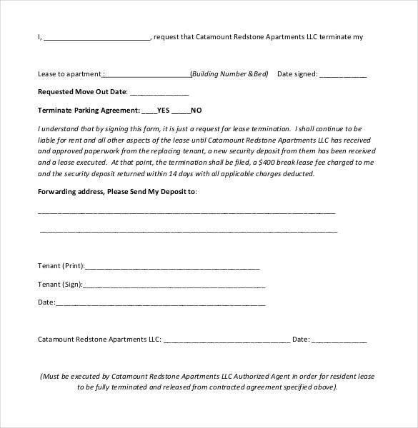 Doc#12751650 Lease Termination Letter Example u2013 lease - agreement letter examples