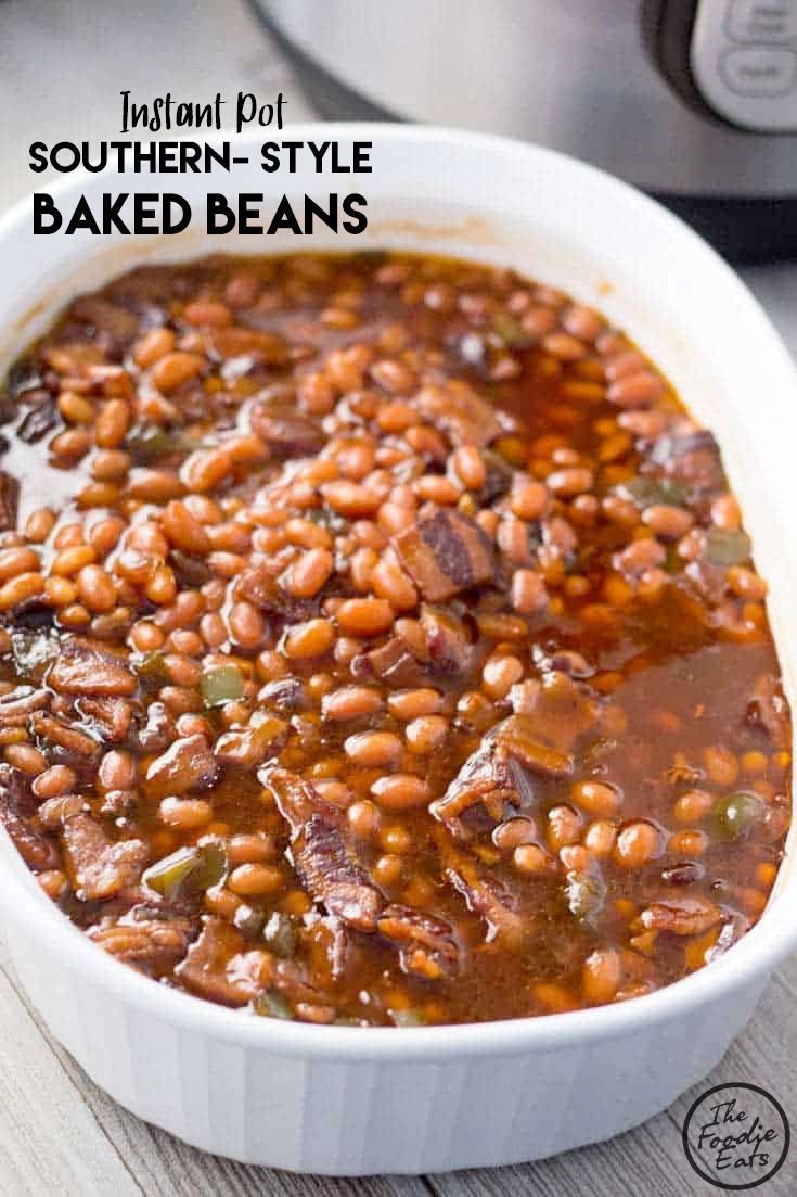 Southern-Style Pressure Cooker Baked Beans