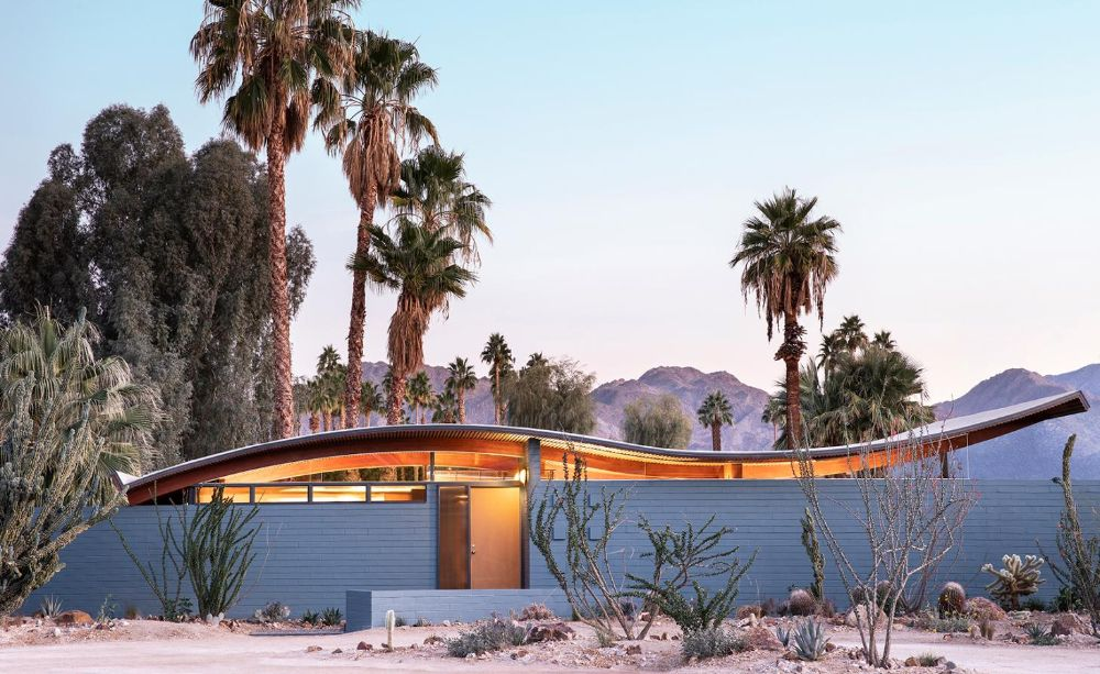 Stayner Architects completes Wave House refresh in Palm Springs in time for the 2020 Modernism Week