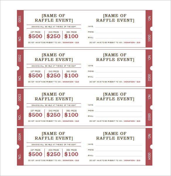free ticket generator | resume-template.paasprovider.com