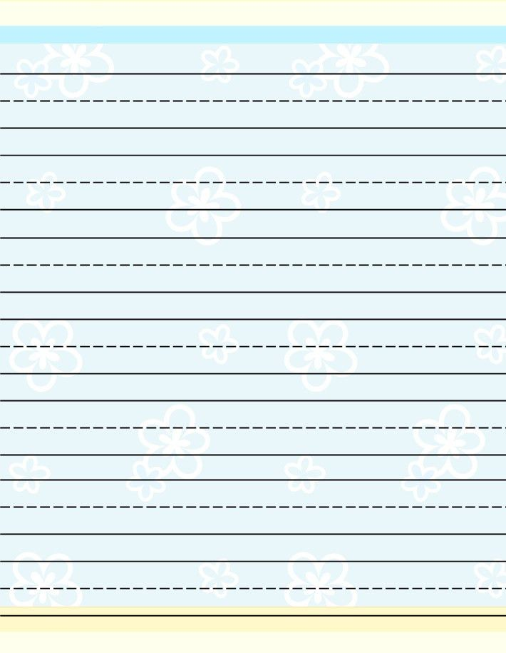 Lined Printing Paper Lined Paper Template Free Premium Templates - free printable lined stationary