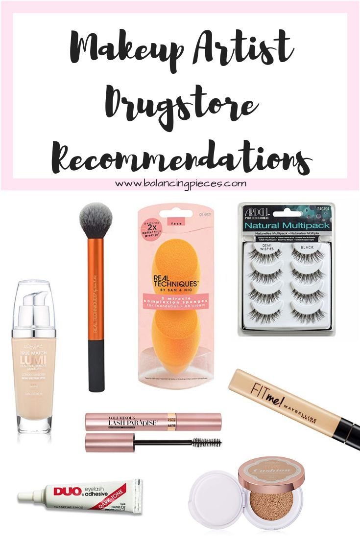 As a makeup artist I am often asked what are my recommendations for makeup. I have had the luxury of using myself a guinea pig for years to find what works best for me and my clients. When it comes to drugstore makeup these are my tried and true. Here are my best drugstore makeup recommendations!