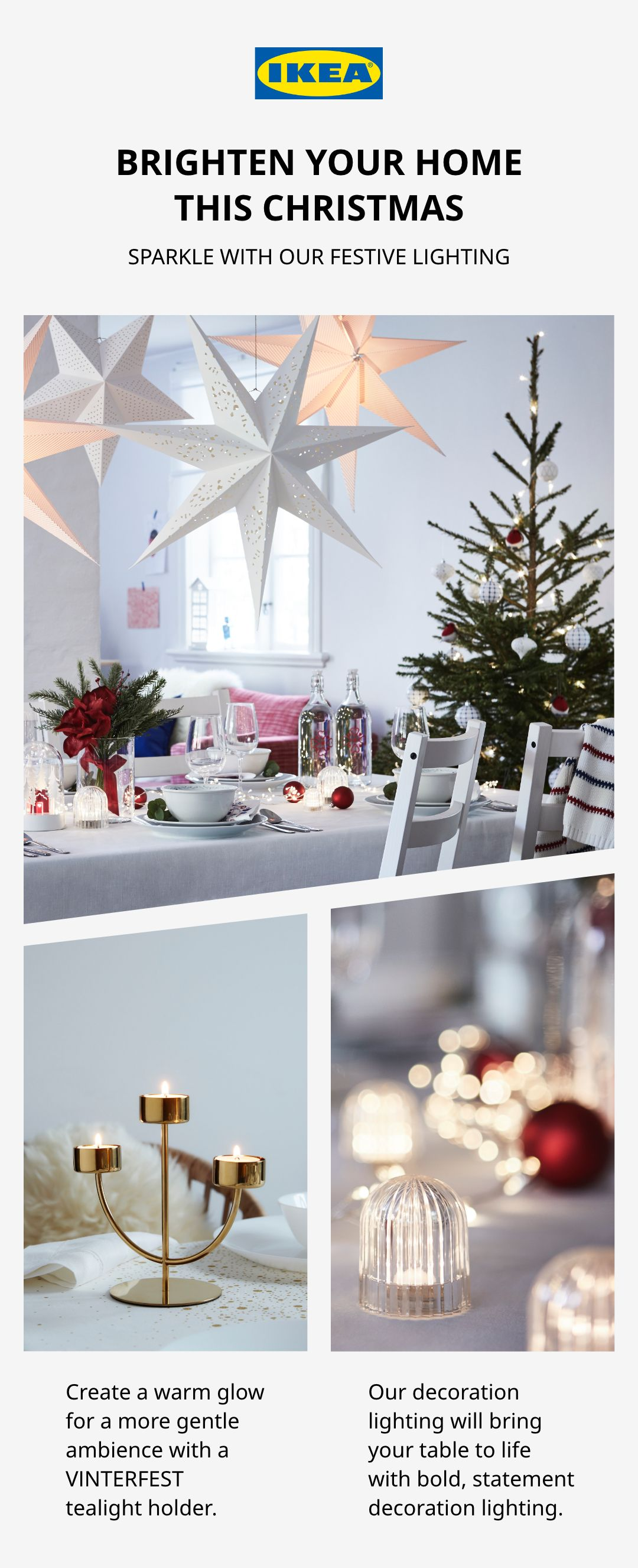 Brighten your home this Christmas