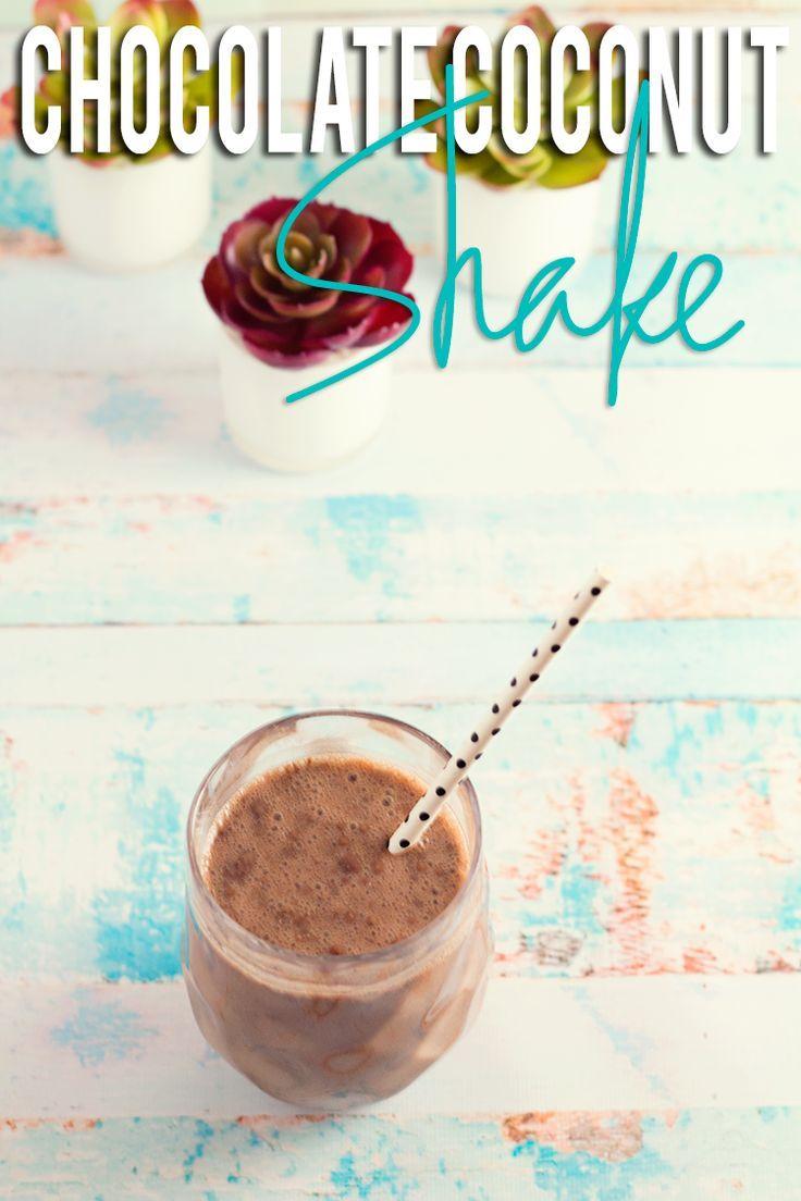 Chocolate Coconut Skinny Gut Shake – Hairspray and Highheels
