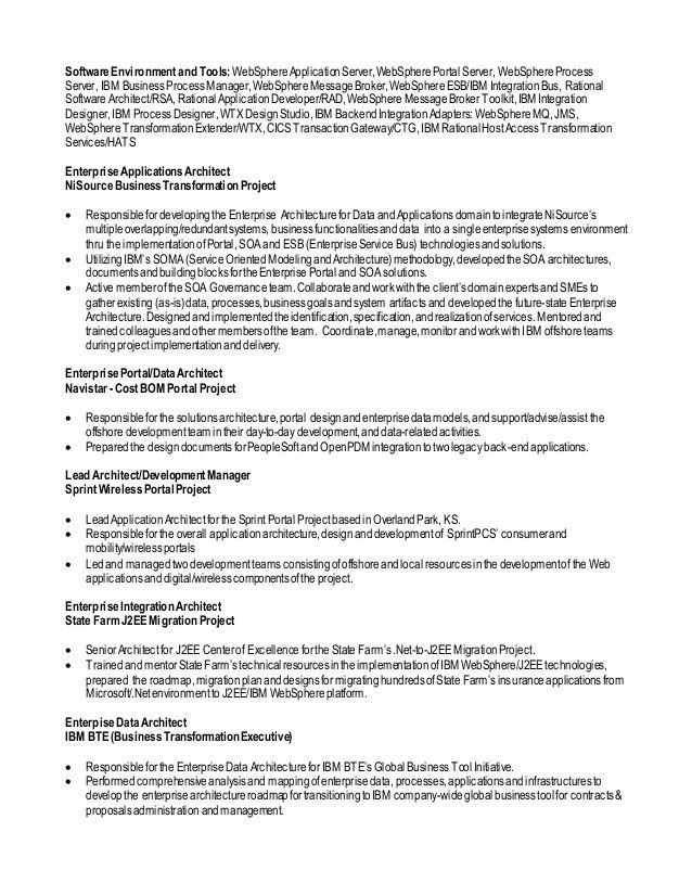 Enterprise Application Integration Resume] Enterprise ...