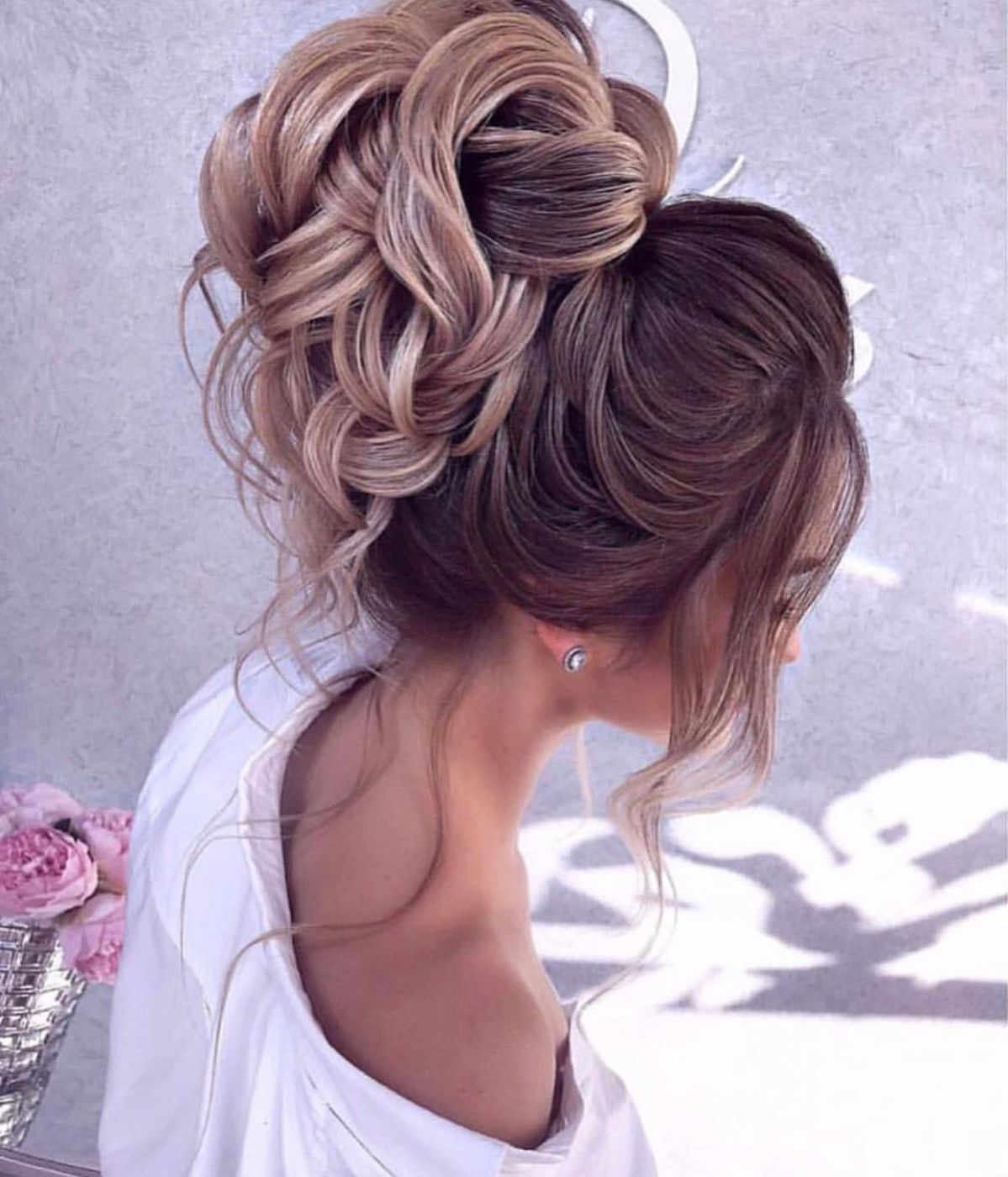 "Absolutely breathtaking braided bun updo pinned to perfection— ideal for any wedding or prom hairstyle.<p><a href=""http://www.homeinteriordesign.org/2018/02/short-guide-to-interior-decoration.html"">Short guide to interior decoration</a></p>"