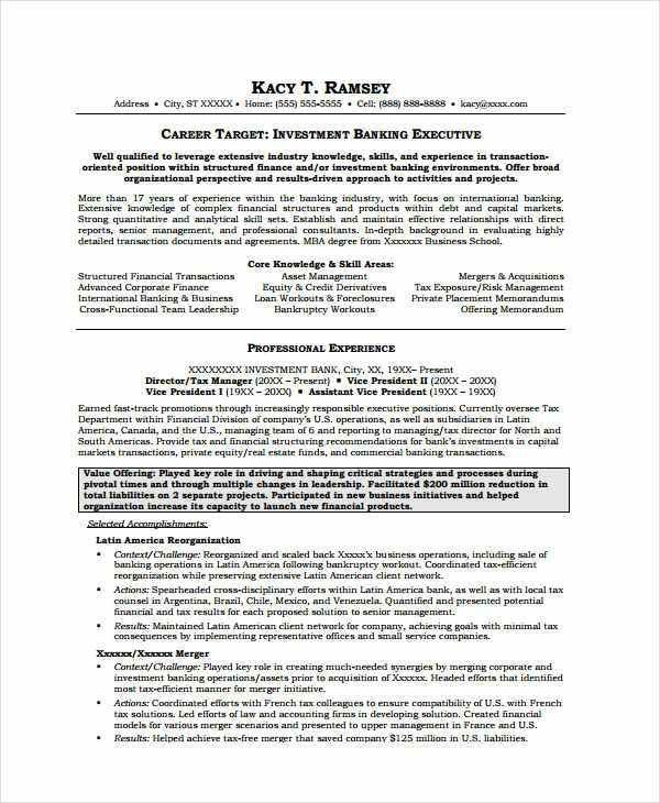 Investment Banking Resume Investment Banking Resume Template Wall - investment banking resume template