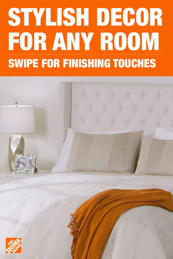 Tie your room together with home decor from homedepot.com