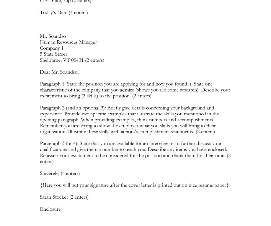 cover letter to hr environmental manager cover letter sample