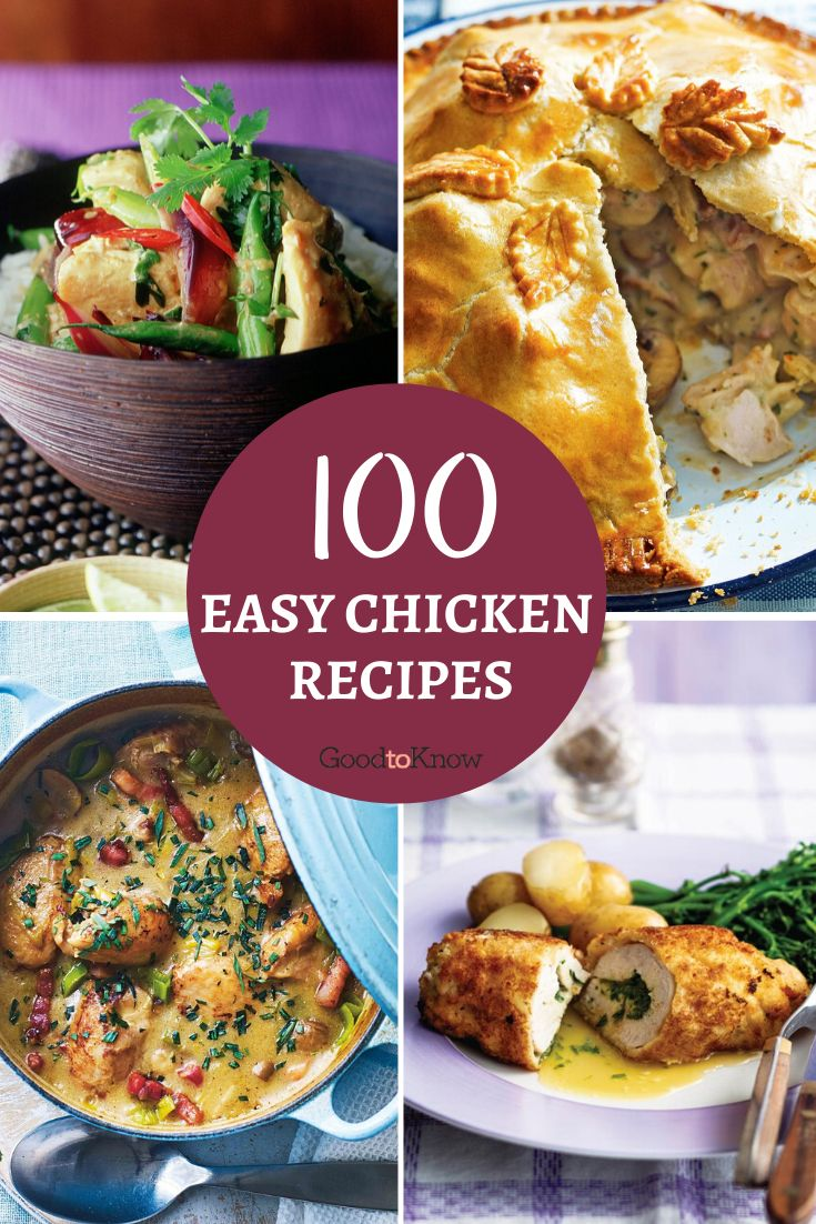 These chicken recipes will remind you why chicken is one of the most popular meats to cook with. It's cheap, versatile and a real crowd-pleaser. From our hugely popular classic chicken recipes, including Gordon Ramsey's butter chicken recipe, to new and exciting dishes, such as summer rolls with coconut and chicken, you'll find plenty of ideas you and your family will love. #chickenrecipes #recipeswithchicken #easychickendinner #funwaystousechicken #chickenpie #howtomakechickenkievs #familymeals