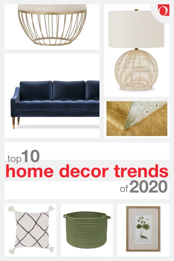 Discover this year's hottest looks with Overstock's Home Decor Trends guide for 2020! Shop Overstock, where quality costs less! #trends #trendguide #homedecor #homedecorating #decorating #decor #home #decoratingtutorial #decoratingguide #2020 #2020hometrends #trendsoftheyear #pantone #classicblue #coloroftheyear #cozierhome #Overstock #hometrends