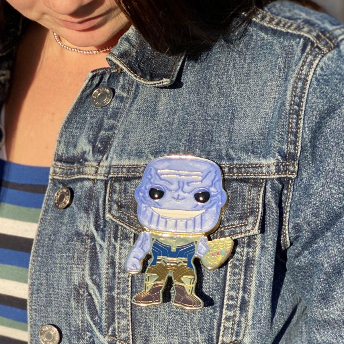 Pop! Funko Thanos Enamel Pin