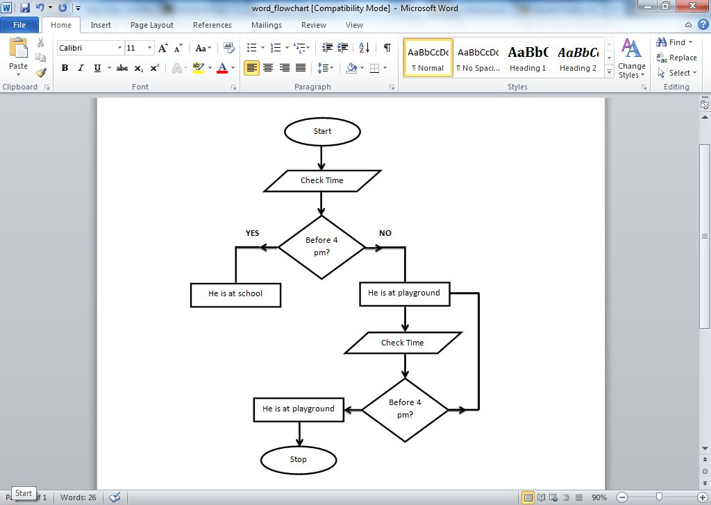 Flow Chart Word Template Process Flow Chart Template Microsoft - flow chart word template