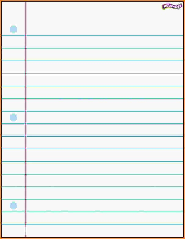 Printable Lines Paper Lined Paper Template Free Premium Templates - lined paper pdf