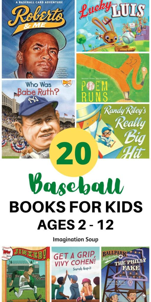 Baseball Picture and Chapter Books for Kids