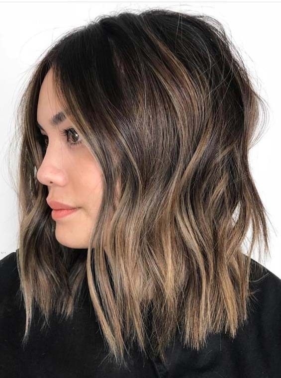 Best Brunette Balayage Hair Color Shades to Try in 2018 – #Balayage #brunette #Color #Hair #shades