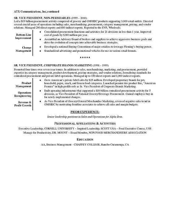 retail job resume sample