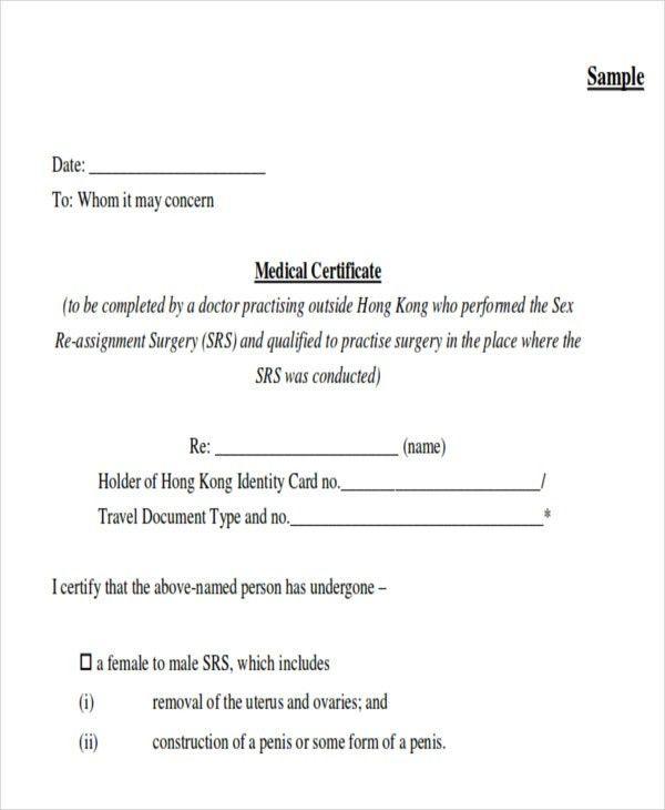 medical certificate format | env-1198748-resume.cloud ...