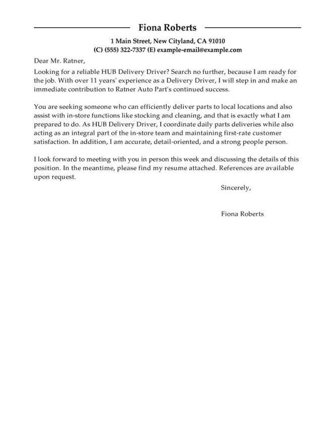 transportation driver cover letter | resume-template.paasprovider.com