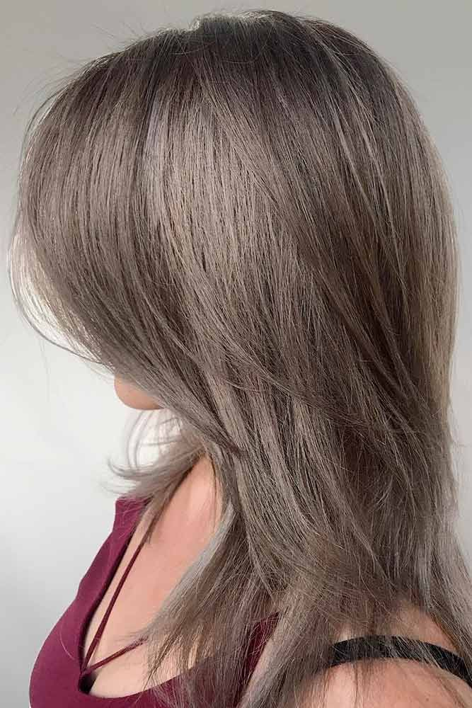 Stylish Straight Layeres #straighthair #layeredhair ★ Medium length layered hairstyles are very popular nowadays. Their popularity has a ground: layers can add volume and movement to tresses. And medium length is especially versatile. In case you would like to experience these pros, pick one of layered styles from our gallery. All eyes will be on you. #glaminati #lifestyle #mediumlengthlayeredhairstyles