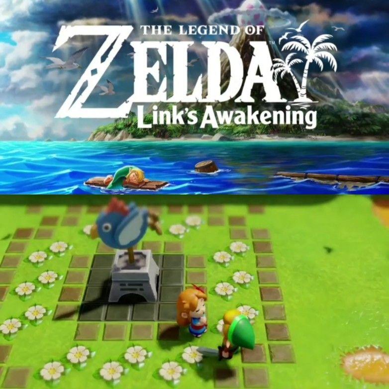 Legend Of Zelda Link S Awakening Remake Announced For