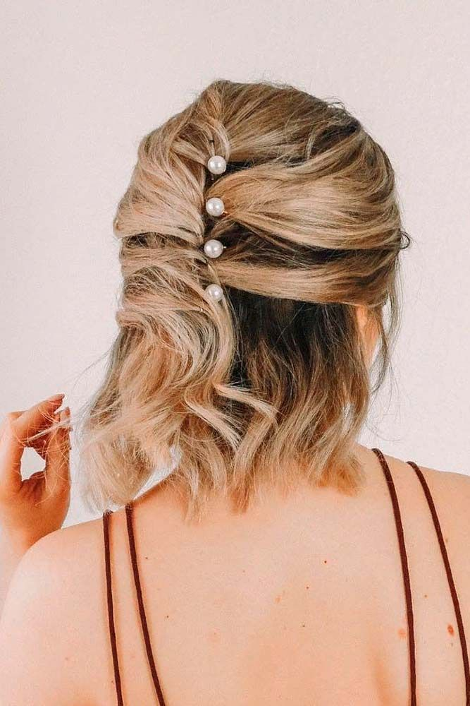 """Half-Up Hairstyle For Medium Length Hair <a class=""""pintag"""" href=""""/explore/halfuphairstyles/"""" title=""""#halfuphairstyles explore Pinterest"""">#halfuphairstyles</a> <a class=""""pintag"""" href=""""/explore/blondehair/"""" title=""""#blondehair explore Pinterest"""">#blondehair</a> ★ Cute hairstyles for medium hair are the solution for those who are not afraid of something new. Don't you dare wasting what is granted to you! <a class=""""pintag"""" href=""""/explore/glaminati/"""" title=""""#glaminati explore Pinterest"""">#glaminati</a> <a class=""""pintag"""" href=""""/explore/lifestyle/"""" title=""""#lifestyle explore Pinterest"""">#lifestyle</a> <a class=""""pintag"""" href=""""/explore/cute/"""" title=""""#cute explore Pinterest"""">#cute</a> hairstylesformediumhair<p><a href=""""http://www.homeinteriordesign.org/2018/02/short-guide-to-interior-decoration.html"""">Short guide to interior decoration</a></p>"""