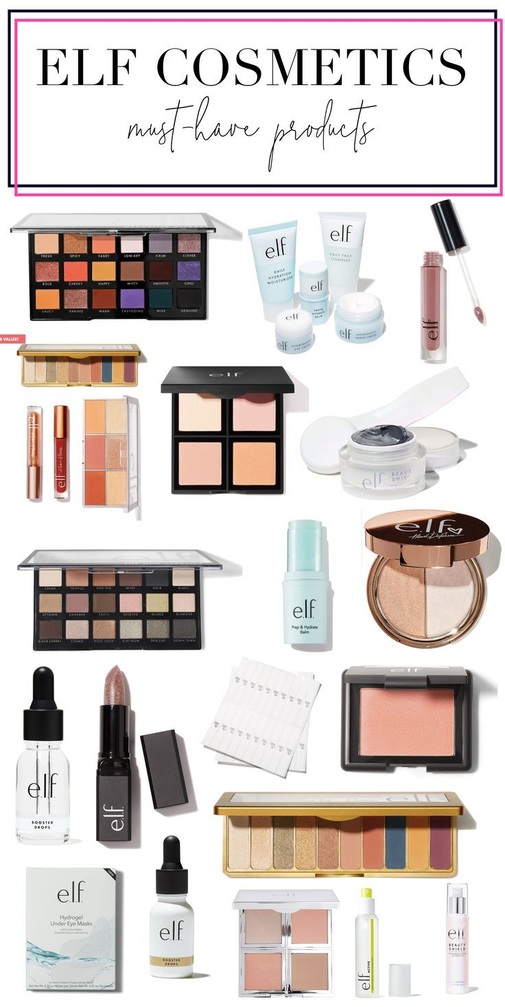 The best of Elf Cosmetics. The products that you should not go without!