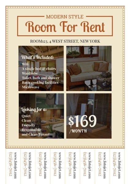 For Rent Flyer Template For Rent Flyers, 15 Stylish House For - contemporary flyer
